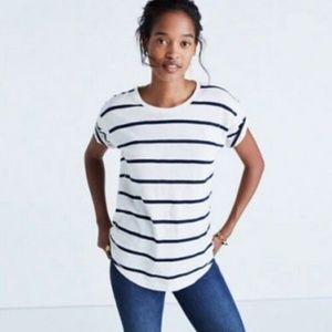 Madewell Whisper Cotton Crewneck T-Shirt Top